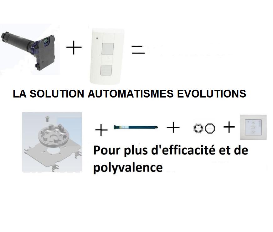 Volet Roulant Bubendorff Avis.Kit D Adaptation Pour Moteur Somfy Rts Dans Volet Roulant